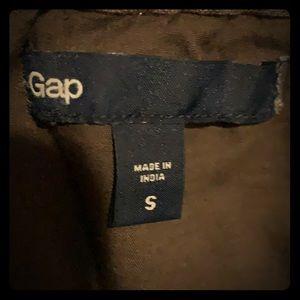 Gap military green skirt